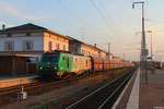 SNCF FRET BB37010 mit DGS 44245 (Dugny-sur-Meuse) Forbach/F - Dillingen Hütte (Kalk in DB Fals) , Forbach 23.07.14