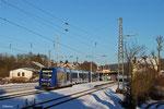 Vlexx 622 404 + 622 411 als RE 29518 Frankfurt/M Hbf - Saarbrücken Hbf, Dudweiler 28.12.14