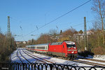 101 061 mit IC 2351 Saarbrücken Hbf - Stuttgart Hbf, Saarbrücken 28.12.14