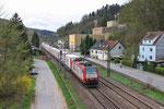 CFL Cargo 4011 mit DGS 49511 Bettembourg - München-Laim Rbf in Scheidt am 19.04.2013