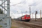 181 215 mit GA 98803 (Hendaye) Forbach/F - Mannheim Rbf Gr.K (TRANSFESA) , Forbach Triage 08.08.14