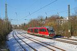 "642 105 ""Hassel"" als RB 12922 Saarbrücken Hbf - Pirmasens Hbf, Saarbrücken 28.12.14"