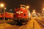 abgestellt im Bh Saarbrücken, MY 1142 (227 005-6) BSBS - Braunschweiger Bahn Service GmbH dahinter die DB Schenker Rail 218 009