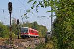 628 583 als RB 13774 Saarbrücken Hbf - Niedaltdorf, Luisenthal(Saar) 04.10.14