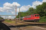 155 038 mit GA 47730 Dillingen DB/Ford - Venlo/NL (Vlissingen Sloeh) , Dillingen Hütte am 23.05.14