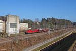 155 019 mit EZ 51910 Mannheim Rbf Gr.G - Saarbrücken Rbf Nord am 09.03.14 in Rohrbach(Saar)