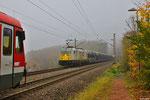 ECR 186 316 mit GA 47290 Kolin/CZ - Gevrey/F am 11.11.13 mit + 660 in Fischbach-Camphausen (Gefco)