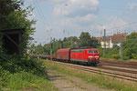 181 209 mit EK 55975 Völklingen Walzwerk - Saarbrücken Rbf Nord , SB-Burbach 05.08.14