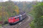 RBH DT 151 143 + 151 127 mit GM 60498 Ensdorf(Saar) - Neunkirchen(Saar) Hbf, Sulzbach(Saar) 29.10.14