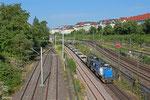 """CFL G1206 Doppeltraktion mit """"MARSzug"""" , Abzweig Saardamm 23.06.14"""