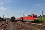 189 044 mit GM 48712 Dillingen Hochofen Hütte - Maasvlakte Oost/NL , Ehrang Gbf Nord am 07.06.14
