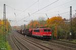 155 080 mit EZ 51909 Saarbrücken Rbf Ost - Mannheim Rbf Gr.M (EV), Saarbrücken 13.11.14