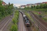 CFL 1585 + 1584 mit DGS 69259  , Abzweig Saardamm 01.06.14