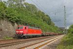 181 223 mit GM 60554 Saarbrücken Rbf West - Völklingen, Güterumfahrung Saarbrücken 16.08.14