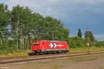 HGK 185 630 (RheinCargo) als Tfzf(D) 92854 Basel Bad Bf - Ehrang Nord , Ensdorf 15.06.14