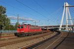 155 040 mit EZ 52168 Mannheim Rbf Gr.G - Koblenz-Lützel Nord , Ludwigshafen(Rh)Hbf am 25.06.14