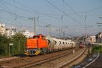 """275 868 mit """"Kalkzug"""" Steeden - Ludwigshafen/Rh BASF Gbf, Ludwigshafen Hbf 22.09.14"""