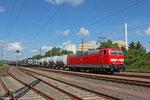 181 218 mit DbZ 94414 Fürstenhausen - Saareguemines/F  , Fürstenhausen 16.06.14
