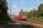 143 280 mit RE-D 12008 Koblenz Hbf - Saarbrücken Hbf, Dillingen(Saar) 26.09.14
