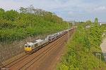 ECR 77 018 mit EZ 49268 Einsiedlerhof - Forbach/F (Villers-Cotterets) , Güterumfahrung Saarbrücken 24.04.14