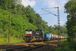 CFL 1585 + 1581 mit DGS 84084 nach Bettembourg/L , Saarbrücken 11.06.14