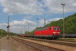 181 209 mit EK 55975 Völklingen Walze - Saarbrücken Rbf Nord , Anschluss Walzwerk 17.06.14