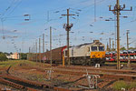 ECR 77 018 mit EZ 47250 Saarbrücken Rbf - Gretz-Armainvilliers/F (Bosch) ,  Forbach Triage am 11.05.14