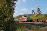 628 594 als RB 13771 Niedaltdorf - Saarbrücken Hbf, Luisenthal(Saar) 04.10.14