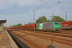 SNCF FRET BB37008 mit GB 62298 Einsiedlerhof - Homburg(Saar) (Sdl.Schotter) , Einsiedlerhof 11.06.14