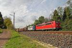 DT 151 083 + 151 081 mit GM 60498 Ensdorf - Neunkirchen(Saar) Hbf, Dudweiler 15.10.14