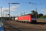 189 071 mit KT 42758 Ludwigshafen BASF Ubf - Rotterdam-Waalhaven (KV, Hupac) , Ludwigshafen(Rh)Hbf am 25.06.14
