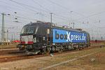 "MRCE Dispolok  ""X4 E - 853"" (193 853) im Einsatz für boxXpress am 01.04.14 abgestellt im Mannheim Rbf"
