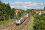 AKIEM BB37042 mit DGS 42226 Ludwigshafen (Rhein) BASF Ubf - Lyon-Guillotiere/F (KV), Stiring-Wendel/F 20.09.14