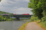 181 220 mit EN 453 Paris Est - Moskva Belorusskaja , Saarbrücken 30.06.14