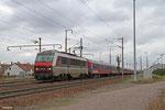 SNCF BB26048 mit 705810 Forbach - Paris Est (Sdl. BTE Leerreisezug), Forbach 16.11.14