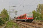 DT 628 450 + 628 414 als RB 38924 Ludwigshafen(Rhein) BASF Nord - Neustadt(Weinstr)Hbf , Ludwigshafen-Mundenheim am 04.04.14