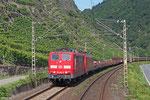 151 085 mit EK 55450 Koblenz-Lüzel Mitte - Ehrang Nord , Kobern-Gondorf 11.08.14