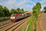 02.07. 19:50 Uhr - Saarbrücken-Burbach , CFL 4013 mit DGS 49510  (Triest Campo Marzio) München- Laim Rbf - Bettembourg/L (Mars Logistics)