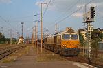 ECR 77 012 mit EZ 49268 Einsiedlerhof - Villers-Cotterêts/F (Volkswagen), Forbach/F 09.09.14