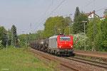 Macquarie European Rail (CBRail) BB37520 mit DGS 98805 (St. Clair-les-Roches) Forbach/F - Großkorbetha  , Saarbrücken Ost am 25.04.2014