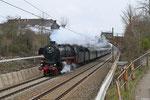 UEF 01 1066 mit DPE 98 Heidelberg - Völklingen in Saarbrücken-Burbach am 06.04.2013