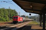 185 582 mit Kesselwagenzug nach Ehrang Nord, Dudweiler 23.09.14