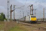 ECR 186 311 mit XP 42259 am 2Cerbere/F - Mannheim Rbf Gr.K am 27.04.14 in Forbach/F Triage