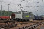 RADVE 139 558 am 13.07 in Saarbrücken Rbf (Überführung Vossloh D18 und Vossloh G6 nach Kiel)