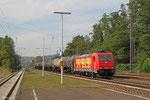 185 586 mit DGS 88717 Ehrang Nord - Ludwigshafen-Rheingönheim, Dudweiler 24.09.14