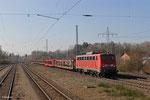 140 861 mit EZ 49221 (Villers-Cotterêts) Forbach/F - Mannheim Rbf Gr.M am 11.03.14 in Einsiedlerhof