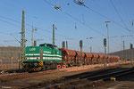 LDS 293 511 mit Arbeitszug im Baugleis Saarbrücken Rbf Ost am 11.03.14