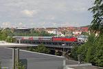 DT 181 215 + 181 207 mit EN 452 Moskva Belorusskaja - Paris Est , Saarbrücken 30.06.14