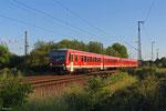628er doppel als RB 12078 Trier Hbf - Jünkerath am 23.05.14 bei Ehrang