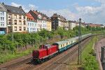 Vulkan-Eifel-Bahn 212 299 mit DLr 25596 Neustadt(W) - Gerolstein in Saarbrücken-Malstatt am 02.06.14